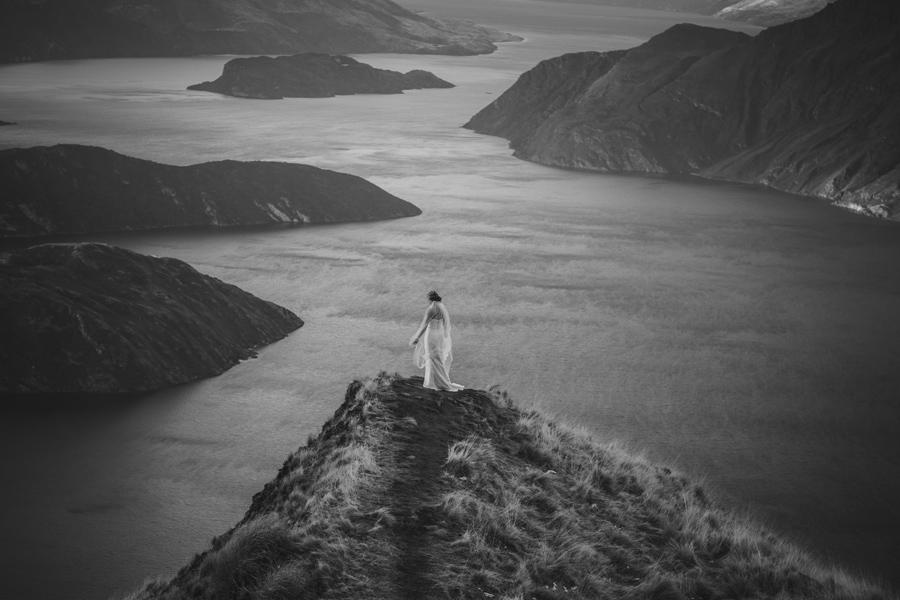 The stunning Melissa on the stunning Coromandel Peak with photography by Alpine Image Company